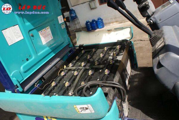 Xe nâng điện cũ KOMATSU ngồi lái 1.5 tấn FB15EX-10 giá rẻ