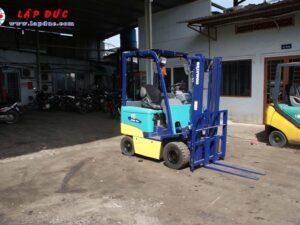 Xe nâng điện ngồi lái 1.5 tấn KOMATSU FB15EX-10 giá rẻ