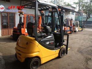 Xe nâng điện ngồi lái cũ 1.8 tấn KOMATSU FB18-12 giá rẻ