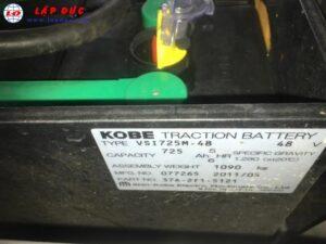 Xe nâng điện cũ KOMATSU ngồi lái 1.8 tấn FB18GF-12