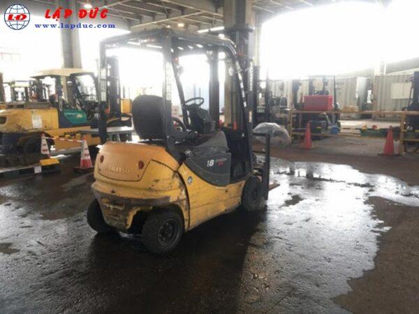 Xe nâng điện ngồi lái KOMATSU 1.8 tấn FB18GF-12