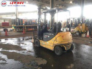 Xe nâng điện KOMATSU ngồi lái 1.8 tấn FB18GF-12
