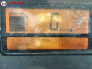 Xe nâng điện ngồi lái 2 tấn KOMATSU FB20EX-11