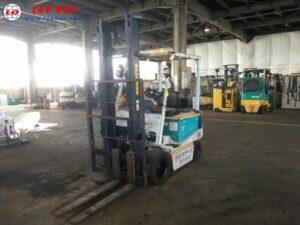 Xe nâng điện ngồi lái 2 tấn KOMATSU FB20EX-5 l
