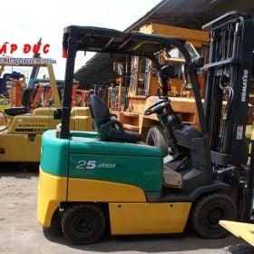 Xe nâng điện ngồi lái cũ 2.5 tấn KOMATSU FB25EX-11 giá rẻ