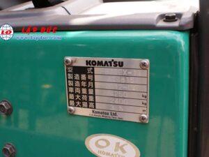 Xe nâng điện KOMATSU ngồi lái 2.5 tấn FB25EX-11 giá rẻ
