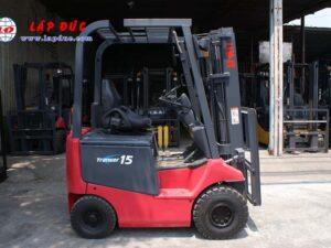 Xe nâng điện ngồi lái cũ NICHIYU 1.5 tấn FB15P-75-300 giá rẻ