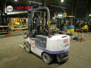 Xe nâng điện ngồi lái 2.5 tấn NICHIYU FB25NP-75-400LD