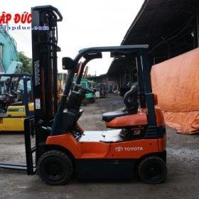 Xe nâng hàng điện ngồi lái TOYOTA 1.5 tấn 7FBL15 # 11003