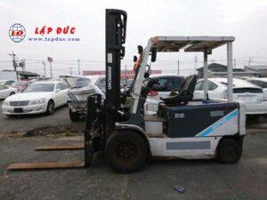 Xe nâng điện ngồi lái cũ 3.5 tấn UNI CARRIERS FB35-8S giá rẻ