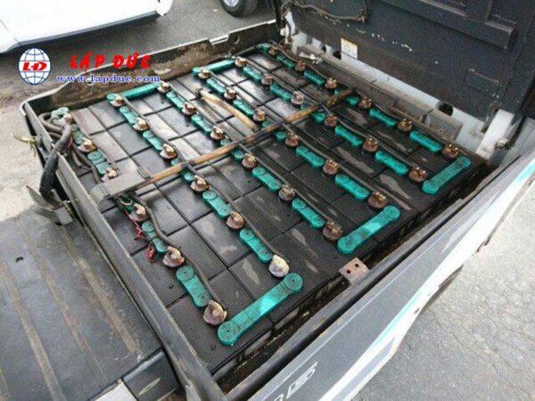 Xe nâng điện cũ UNI CARRIERS 3.5 tấn ngồi lái FB35-8S giá rẻ