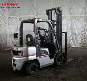 Xe nâng xăng ga 2.5 tấn Nissan PL02