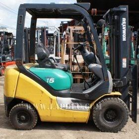 Xe nâng máy xăng KOMATSU 1.5 tấn FG15LC-18 giá rẻ