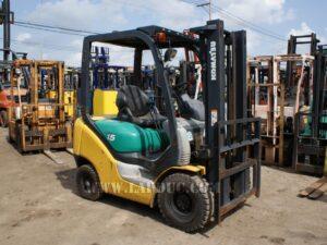 Xe nâng xăng KOMATSU 1.5 tấn FG15LC-18 giá rẻ