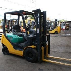 Xe nâng xăng 1.5 tấn KOMATSU FG15LC-20 # 653597 giá rẻ