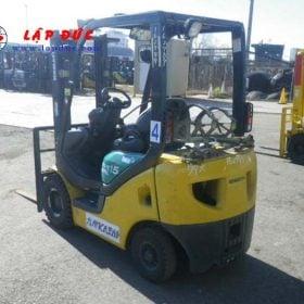 Xe nâng xăng cũ 1.5 tấn KOMATSU FG15T-18 # 644796 giá rẻ