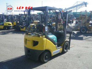 Xe nâng xăng cũ KOMATSU 1.5 tấn FG15T-18 # 644796 giá rẻ