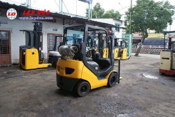 Xe nâng xăng 1.5 tấn KOMATSU FG15T-20 # 672366 giá rẻ