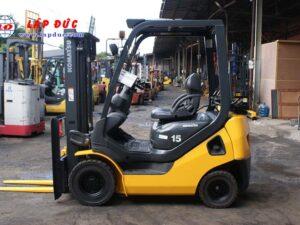 Xe nâng xăng cũ 1.5 tấn KOMATSU FG15T-21 # 203948 giá rẻ