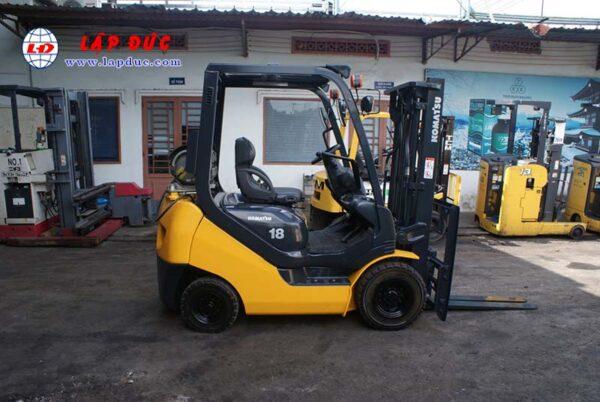 Xe nâng xăng cũ KOMATSU 1.8 tấn FG18T-20 # 627929 giá rẻ