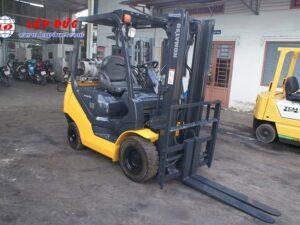 Xe nâng máy xăng KOMATSU 1.8 tấn FG18T-20 # 627929 giá rẻ