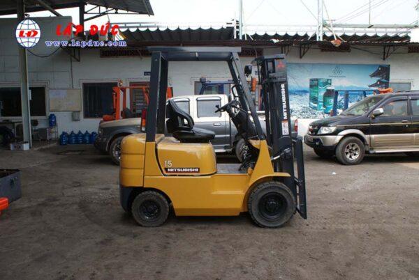 Xe nâng xăng cũ MITSUBISHI 1.5 tấn FG15 # 54137 giá rẻ