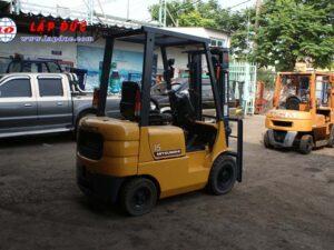 Xe nâng xăng 1.5 tấn MITSUBISHI FG15 # 54137