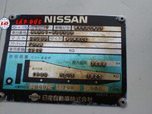 Xe nâng máy xăng NISSAN 1.5 tấn NAH01-0509 giá rẻ