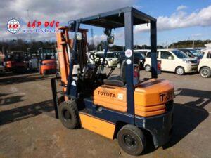 Xe nâng máy xăng TOYOTA 1.5 tấn 5FG15 # 65400 giá rẻ