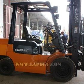 Xe nâng xăng 2.5 tấn TOYOTA 7FG25
