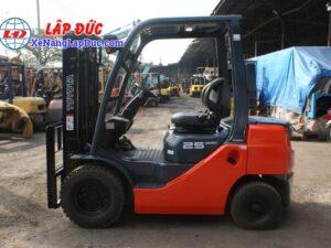 xe nâng dầu diesel 2.5 tấn TOYOTA 02-8FDL25 # 63850