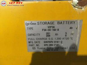 Xe nâng điện đứng lái 1 tấn KOMATSU FB10RS-14