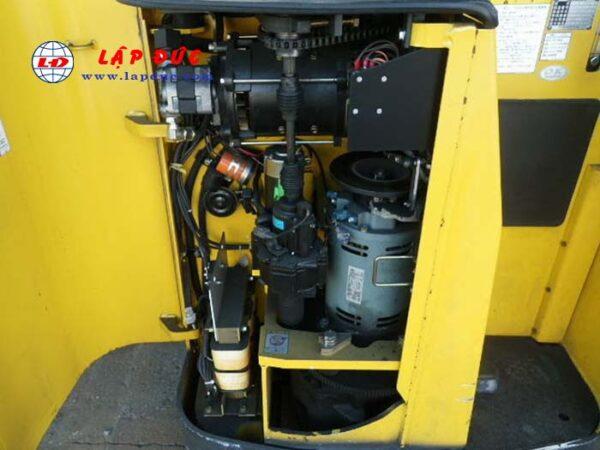 Xe nâng điện đứng lái cũ 1.3 tấn KOMATSU FB13RL-12 giá rẻ