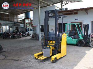 Xe nâng điện đứng lái KOMATSU 1.3 tấn FB13RL-14 giá rẻ