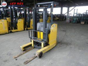 Xe nâng điện đứng lái cũ 1.5 tấn KOMATSU FB15RW-14