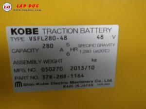 Xe nâng điện cũ KOMATSU đứng lái 1.8 tấn FB18RS-11