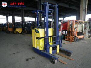 Xe nâng điện đứng lái cũ 2 tấn KOMATSU FB20RL-4