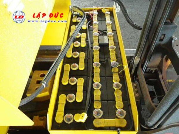 Xe nâng điện đứng lái cũ KOMATSU 2.5 tấn FB25RN-4 giá rẻ