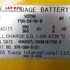 Xe nâng điện cũ KOMATSU đứng lái 2.5 tấn FB25RN-4 giá rẻ