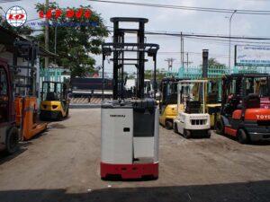 Xe nâng điện đứng lái cũ NICHIYU 1.3 tấn FBR13 giá rẻ