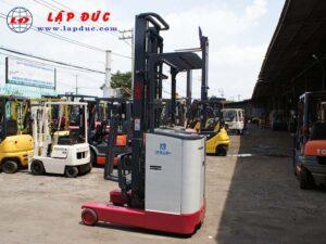 Xe nâng điện đứng lái NICHIYU 1.3 tấn FBR13 giá rẻ