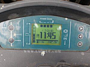 Xe nâng điện NISSAN đứng lái 1.5 tấn U01F15T