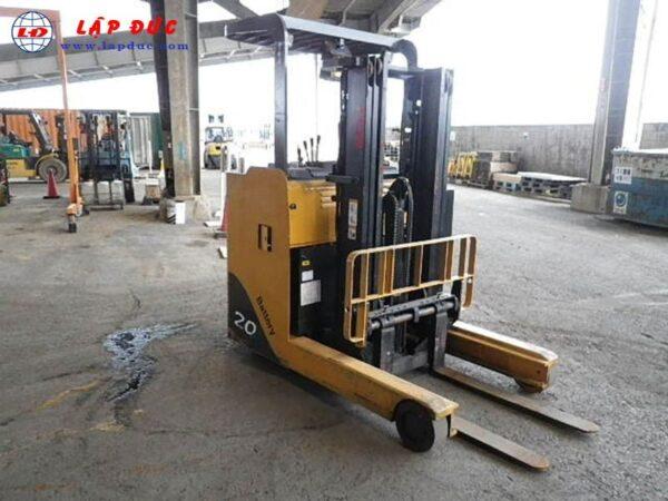 Xe nâng điện đứng lái cũ TCM 2 tấn FRHB20-6
