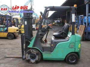 Xe nâng dầu cũ MITSUBISHI 1.5 tấn FD15D # 51325 giá rẻ
