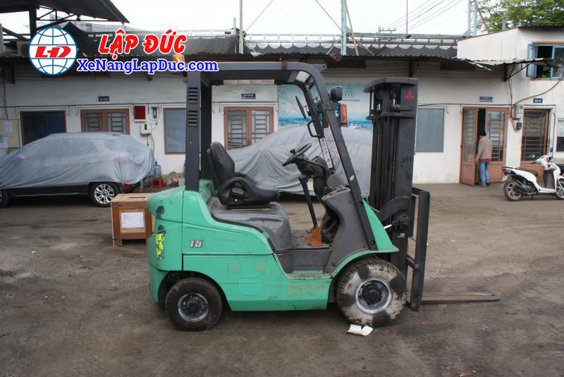 Xe nâng dầu MITSUBISHI cũ 2.5 tấn - 3 tấn nâng cao 3m 7