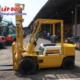 Xe nâng dầu cũ 2.5 tấn KOMATSU FD25L-8 # 160080 giá rẻ