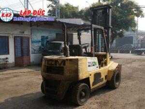 Xe nâng dầu TCM 4 tấn FD40Z6 # 59606364 giá rẻ