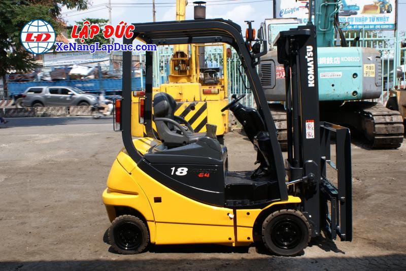 Xe nâng điện ngồi lái KOMATSU 2.5 tấn cũ 1