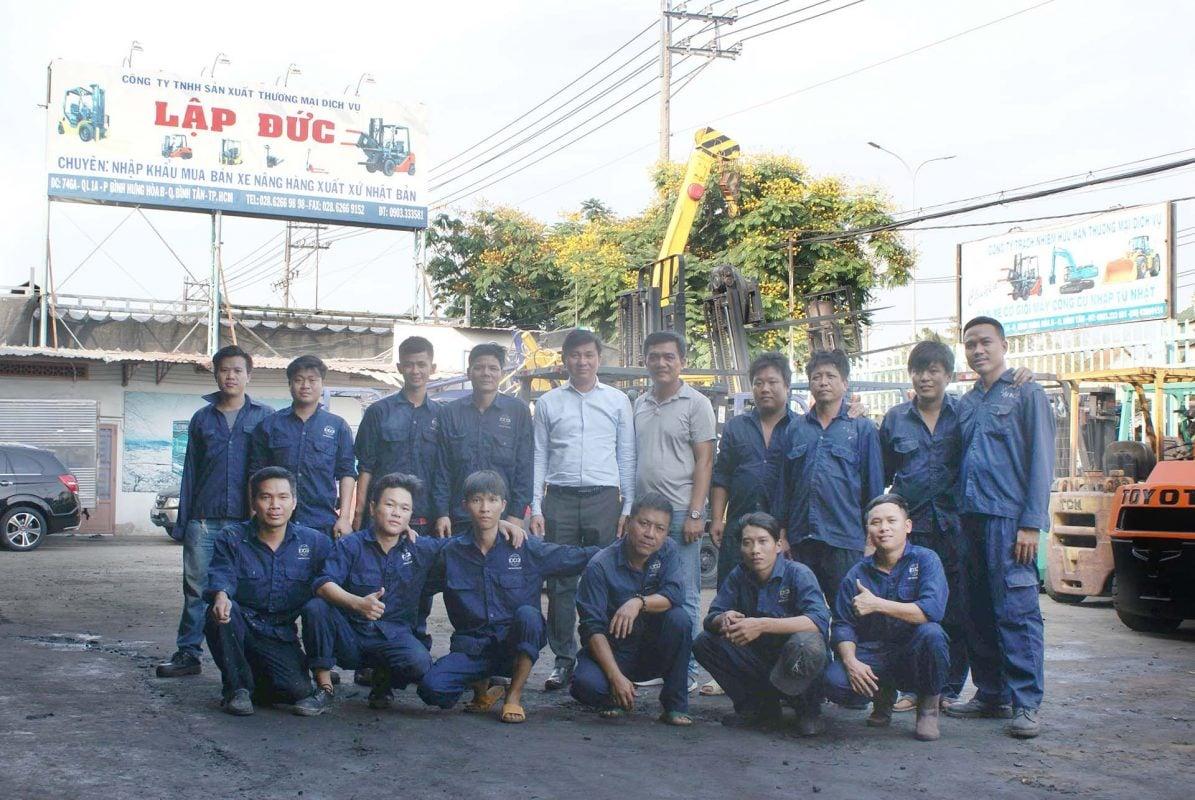 Đội ngũ kỹ thuật công ty Lập Đức