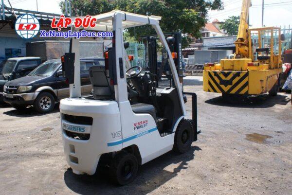 Xe nâng xăng NISSAN 1 tấn NP1F1 # 400155 giá rẻ